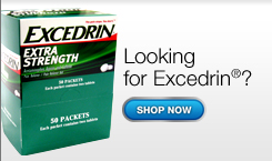 Looking for Excedrin?