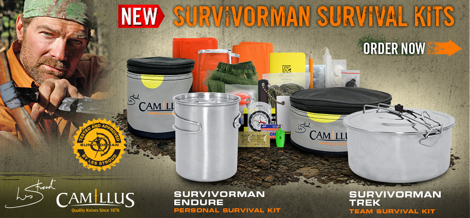 Survivorman Survival Kits