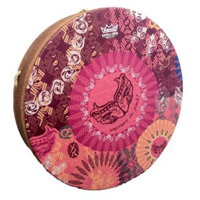 Warriors In Pink Buffalo Drum picture