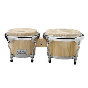 "Crown Percussion® Bongo Drum - Natural, 7""-8.5"" picture"