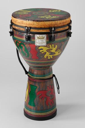"""Mondo™ Djembe Drum - Adinkra, 14"""" picture"""