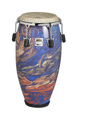 """Valencia Poncho Sanchez™ Conga Drum - Molten Sea, 11.75"""" picture"""