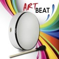 ArtBEAT™ Buffalo Drum - White, 12""