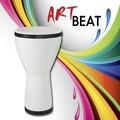 "ArtBEAT™ Djembe Drum - White, 8"""