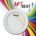 ArtBEAT™ Sound Shape® Drum - White, 8.25""