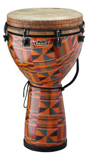 "Mondo™ Djembe Drum - Kintekloth, 16"" picture"
