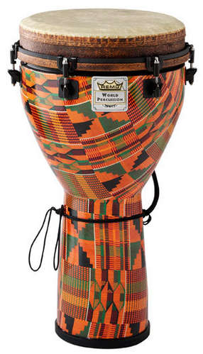 "Mondo™ Djembe Drum - Kintekloth, 14"" picture"