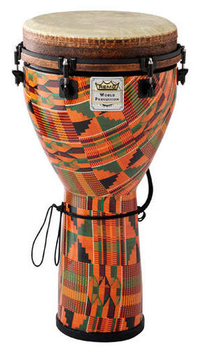 "Mondo™ Djembe Drum - Kintekloth, 12"" picture"