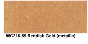 Reddish Gold Sumi-e Watercolor picture