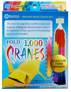 "One Thousand Crane Kit Gold Foil Edition <font color=""red""> Sale </font> picture"