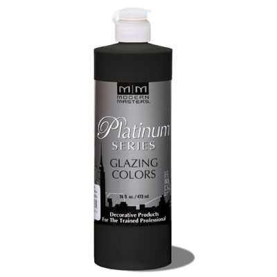 Platinum Series - Glazing Cream Colors - Black 16oz picture