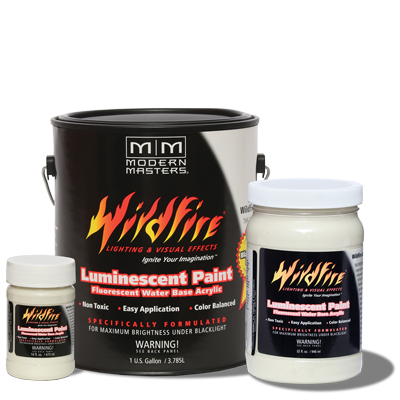 Wildfire Visible Fluorescent Paint - Optical White - Gallon picture