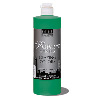Platinum Series - Glazing Cream Colors - Emerald Green 16oz picture