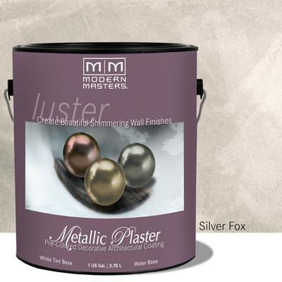 Platinum Series Metallic Plaster - Silver Fox - Gallon picture