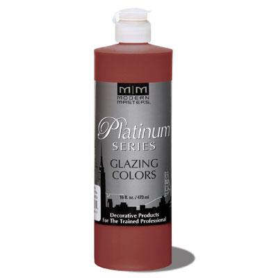 Platinum Series - Glazing Cream Colors - Aged Mahogany 16oz picture