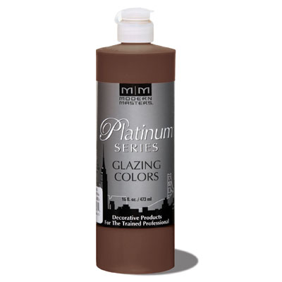 Platinum Series - Glazing Cream Colors - Tobacco Brown 16oz picture