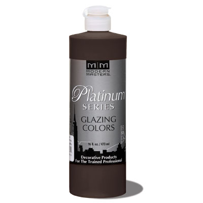 Platinum Series - Glazing Cream Colors - VanDyke Brown 16oz picture