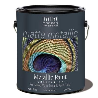 Matte Metallic Paint - Champagne Gallon picture