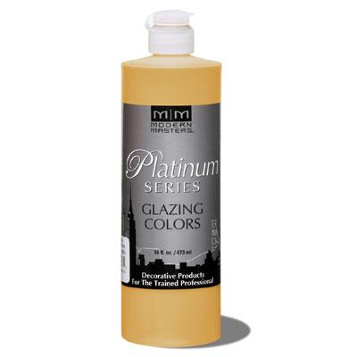 Platinum Series - Glazing Cream Colors - Golden Sienna 16oz picture