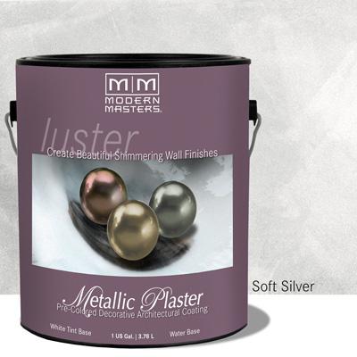 Platinum Series Metallic Plaster - Soft Silver - Gallon picture