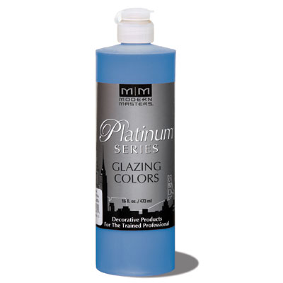 Platinum Series - Glazing Cream Colors - Custom Blue 16oz picture