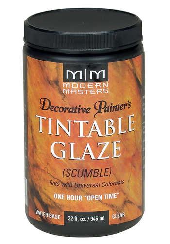 Decorative Painter's Tintable Glaze Scumble - 32oz picture