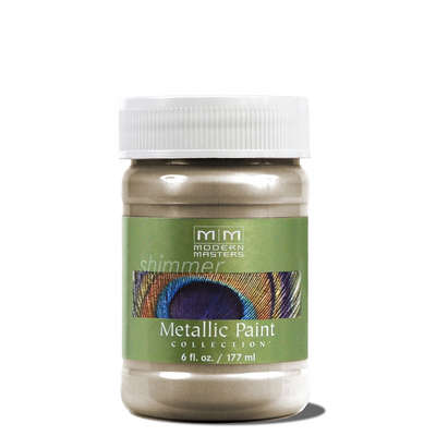 Metallic Paint - Nickel 6oz picture