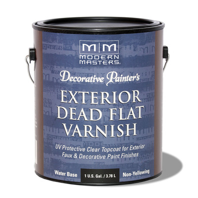 Decorative Painter's Exterior Dead Flat Varnish - Gallon picture