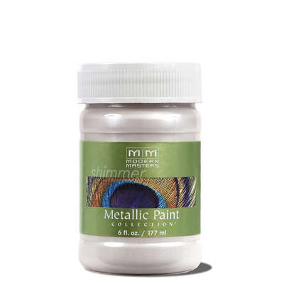 Metallic Paint - Oyster 6oz picture