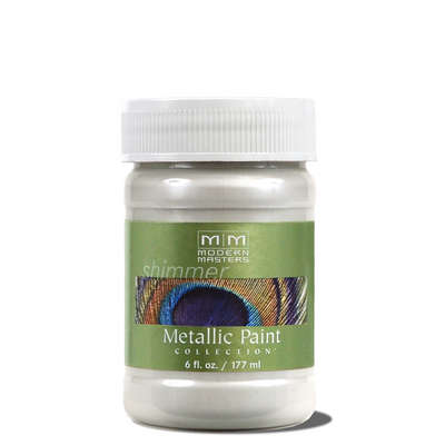 Metallic Paint - Pearl White 6oz picture