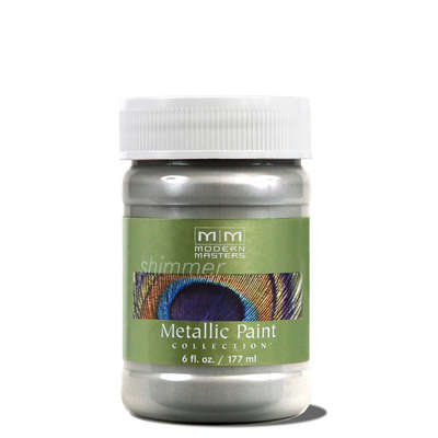 Metallic Paint - Silver 6oz picture