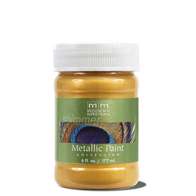 Metallic Paint - Gold Rush 6oz picture