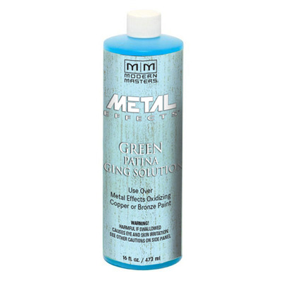 Metal Effects - Green Patina Aging Solution 16oz picture