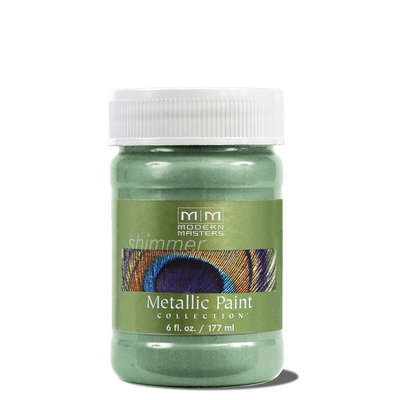 Metallic Paint - Teal 6oz picture