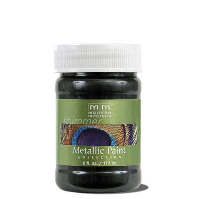 Metallic Paint - Black Pearl 6oz picture
