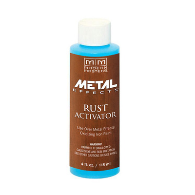 Metal Effects - Rust Activator 4oz picture