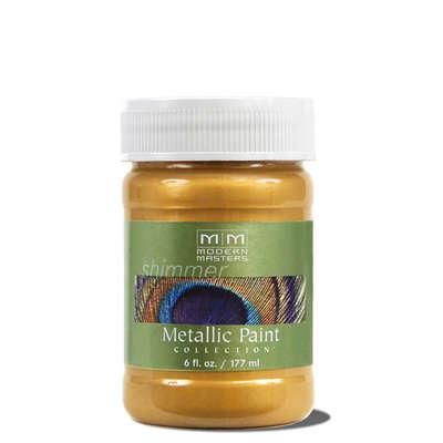 Metallic Paint - Pale Gold 6oz picture