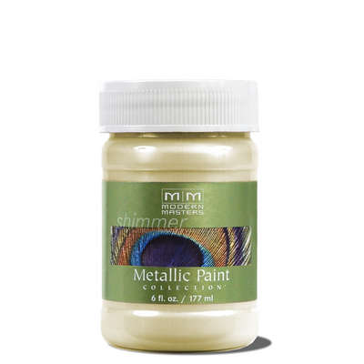 Metallic Paint - Flash Gold 6oz picture