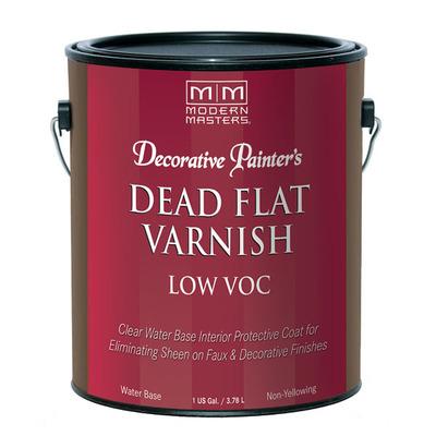 Decorative Painter's Interior Dead Flat Varnish Low VOC - Gallon picture