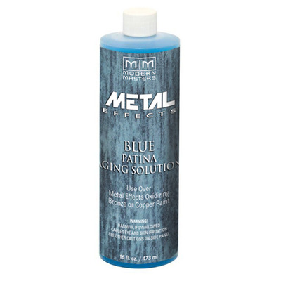 Metal Effects - Blue Patina Aging Solution 16oz picture