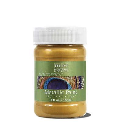 Metallic Paint - Rich Gold 6oz picture