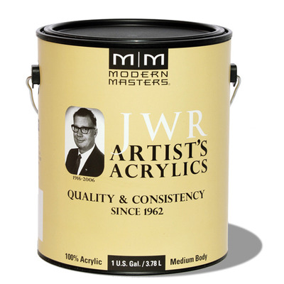 JWR Artist's Acrylic Azo Yellow Medium - Gallon picture