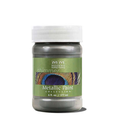 Metallic Paint - Pewter 6oz picture