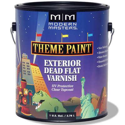 Theme Paint Exterior Dead Flat Varnish - Gallon picture