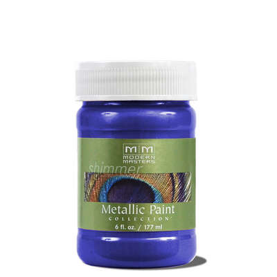 Metallic Paint - Venetian Blue 6oz picture