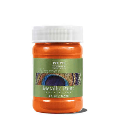 Metallic Paint - Burnt Orange 6oz picture