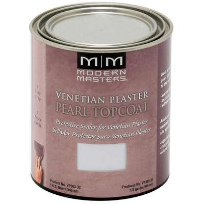 Venetian Plaster Pearl Topcoat - 32oz picture