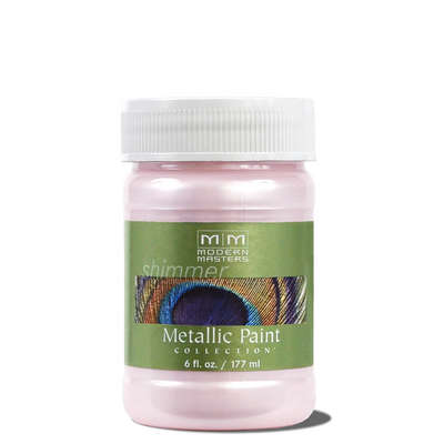 Metallic Paint - Rose 6oz picture