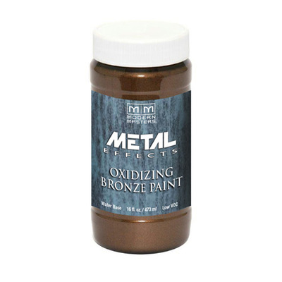 Metal Effects Reactive Metallic Paint - Bronze 16oz picture