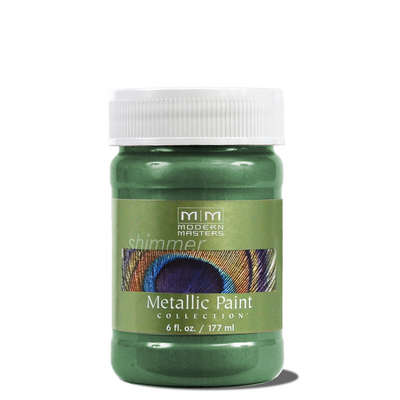 Metallic Paint - Hunter Green 6oz picture